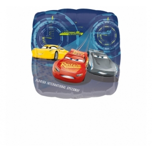 "Balon foliowy 18"" SHP - ""Cars 3 - Lightning McQueen"""