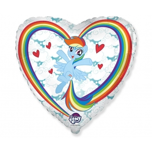 Balon foliowy 18 cali FX - My little Pony Chmurki
