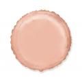 Balon foliowy 18 cali FX - Okrągły (różowo-złoty)