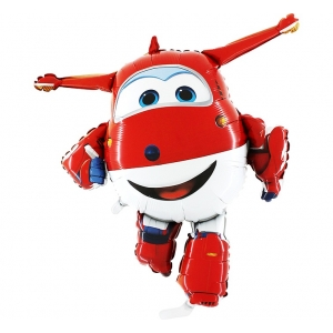 "Balon foliowy 39"" SHP GRABO - ""Super Wings - Jett"""