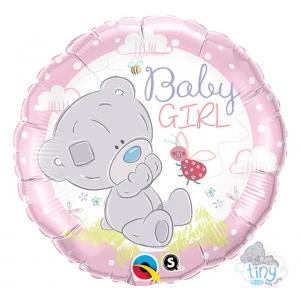 """Balon foliowy 18"""" QL CIR - """"Tiny Tatty Teddy Baby Girl """""""