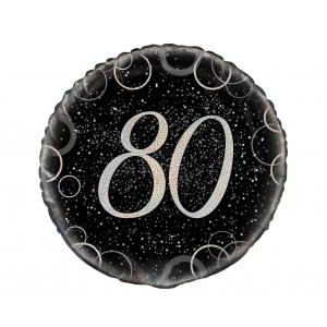 Balon foliowy UQ 18 cali Prism z nadr. 80, srebrny