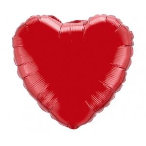 """Balon foliowy 18"""" FX - """"Serce"""" (czerwone)"""