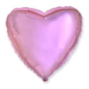 """Balon foliowy 18"""" FX - """"Serce"""" (b. jasnoróżowe)"""