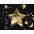 Talerzyki Little Star - Gwiazda, złoty, 27cm