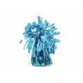 Ciężarek do balonów, foliowy, błękitny 1szt.