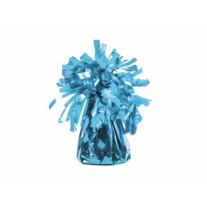 Ciężarek do balonów, foliowy, błękit 1szt.