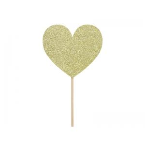 Dekoracje do muffinek Sweet Love - Serca