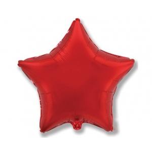"""Balon foliowy 18"""" FX - """"Gwiazda"""" (czerwona)"""