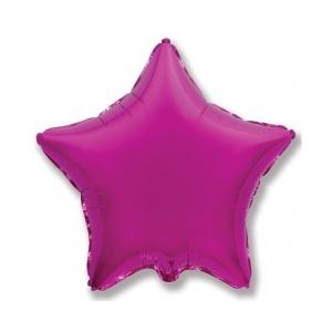 """Balon foliowy 18"""" FX - """"Gwiazda"""" (purpurowa)"""