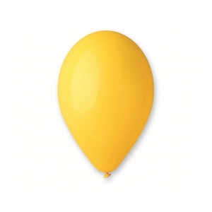 """Balon G110 pastel 12"""" - """"ciemnożółty"""" / 100 szt."""