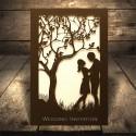 Zaproszenia Ślubne Para Młoda Pod Drzewem F1315
