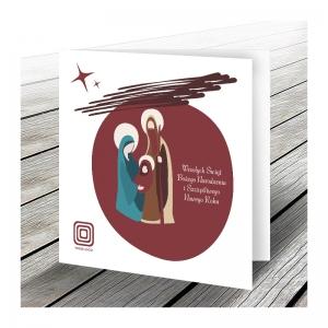 Kartka świąteczna WS031
