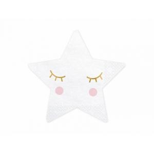 Serwetki Little Star - Gwiazda, 16x16cm