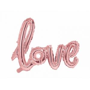 "Balon foliowy ""Napis LOVE"", 68 cm"