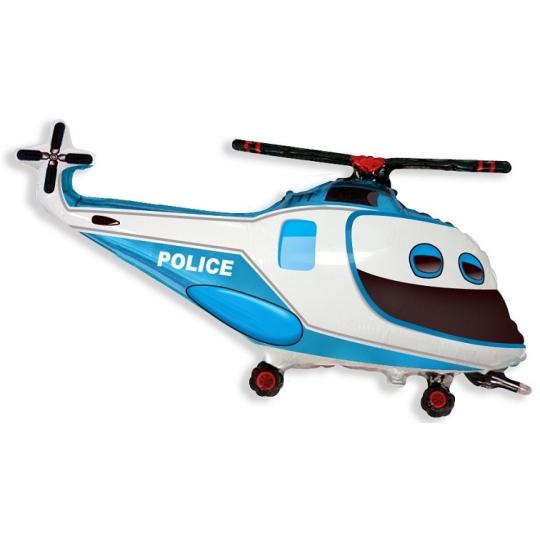 Balon foliowy 24 cali FX, Helikopter Policyjny