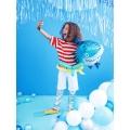 Balon foliowy Rekin, 92x48cm, mix