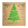 Kartka świąteczna z nasionami świerka pospolitego FS1040