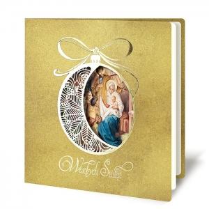 Kartka Świąteczna dla firm z logo