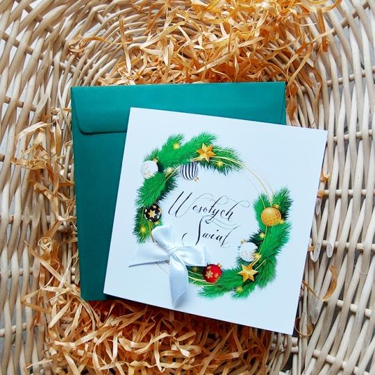 Kartka Świąteczna z logo