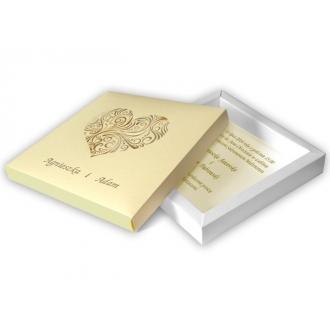 Zaproszenia Ślubne w Pudełkach F1002