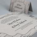 Zaproszenia Ślubne z Motywem Desek F1341bt