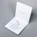 Zaproszenia Ślubne Kwadratowe Białe Subtelne F1344tb