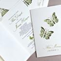 Zaproszenia Ślubne z Motylami F1239