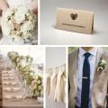 Zaproszenia Ślubne Serce z Odcisków F1366