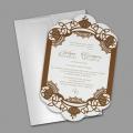 Zaproszenia Ślubne z Ramką F1382