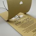 Zaproszenia Ślubne Zawieszka w Serca F1389