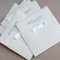 Zaproszenia Ślubne w Kolorze Białym F1241