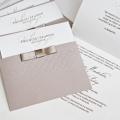 Zaproszenia Ślubne w Kolorze Beżowym F1241P