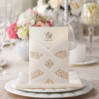 Zaproszenia Ślubne w Formie Kieszonki CW060
