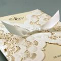 Zaproszenia Ślubne z Satynową Wstążką CW5111