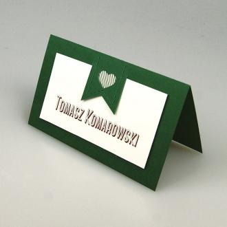 Winietka Ślubna w Kolorze Zielonym FW1333