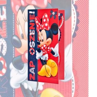Zaproszenie na urodziny z Myszką Minnie Disney V0155