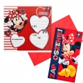 Zaproszenie na urodziny Myszka Minnie Disney V0155