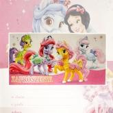 Zaproszenie na urodziny Pony Królewna Śniegu Disney V0161