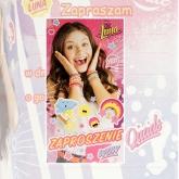 Zaproszenie na urodziny Soy Luna Disney Channel V0177