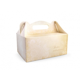 Ozdobne pudełka na ciasto, 1op.