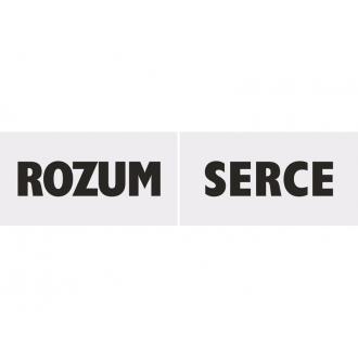 Tabliczki Serce/Rozum, 1op.