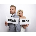Tabliczki tekturowe Head & Neck, 1op.