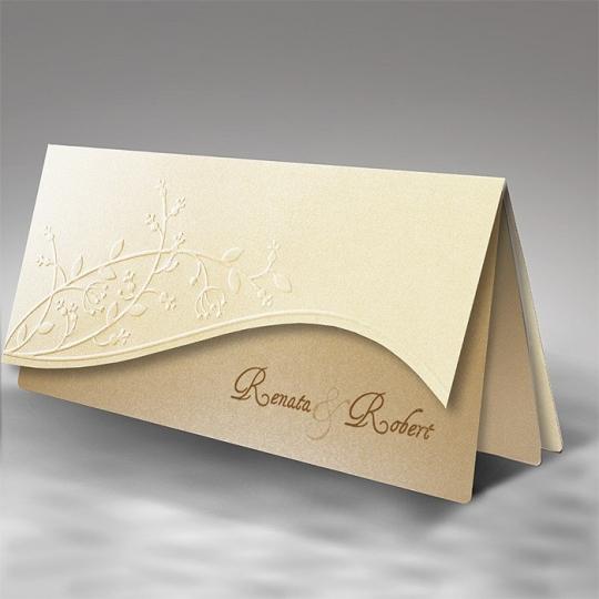 Zaproszenia Ślubne F1173