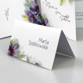 Winietka Ślubna z Motywem Kwiatowym FW1356