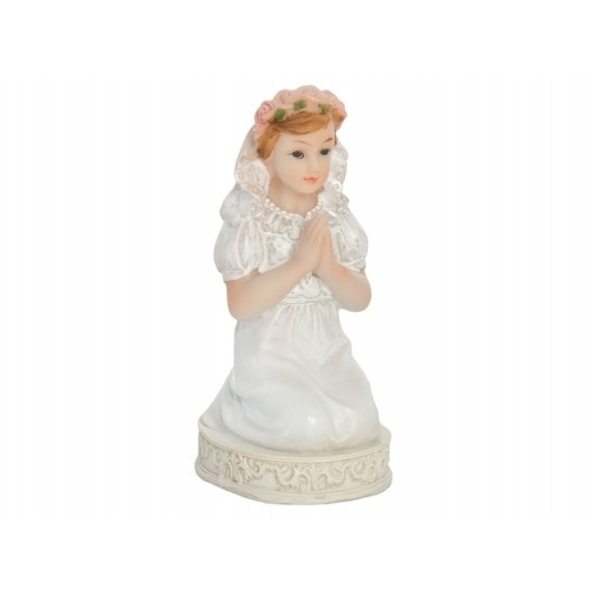 Figurka komunijna Dziewczynka, 11cm, 1szt.