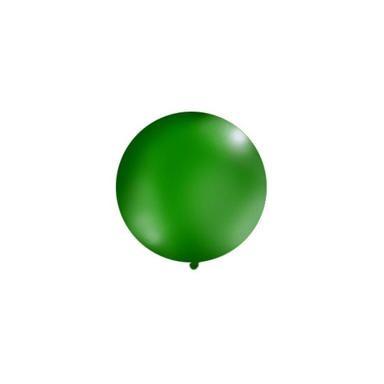 Balon 1m, okrągły, Pastel c. zielony, 1szt.