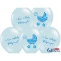 Balony 30cm Nasz Mały Chłopczyk, P. Blue
