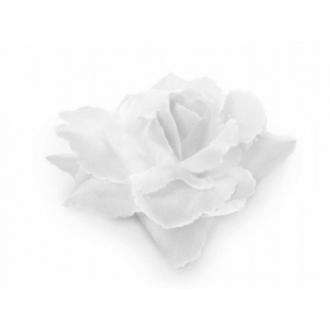 Różyczki do przylepiania, biały, 9cm, 1op.