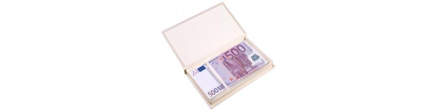 Ozdobne pudełka na pieniądze